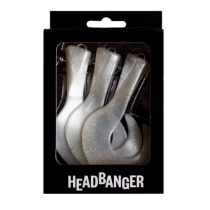 Headbanger Tail ogonki (do 23cm) Pearl White 3szt
